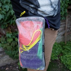 The Packing cube can be used as a fanny pack